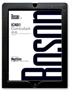 courseware for cisco 100 105 icnd1 digital edition rh boson com Boson GIF Boson City