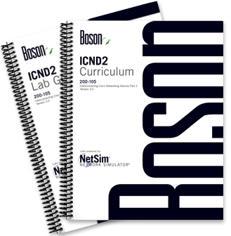 courseware for cisco 200 105 icnd2 paperback rh boson com Fermions vs Bosons Boson NetSim