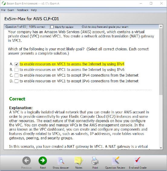 CLF-C01 AWS Practice Exam | Boson