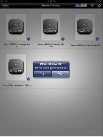 Courseware ipad